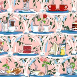 Cafe Treats | Pale Pink