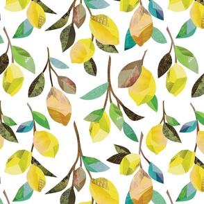 Lemon Branches {White}