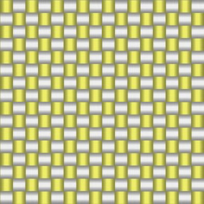 Woven (white and yellow)