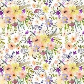 """4"""" Spring Garden - White"""
