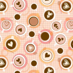 pastel coffee