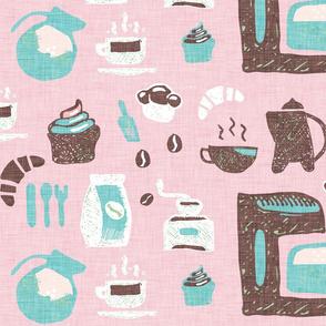 Pastel Cafe Pink