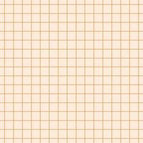 pastel grid yellow