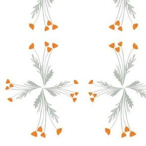 Poppy simple squares