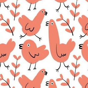 Simple Red Birdies