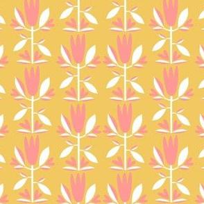 Folk Art Tulip