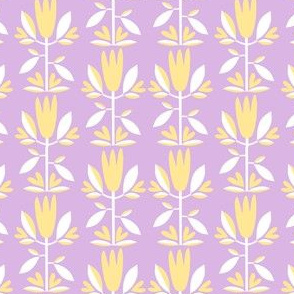 Folk tulip