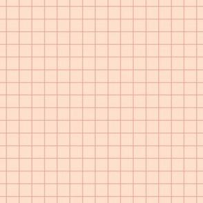 pastel grid blush
