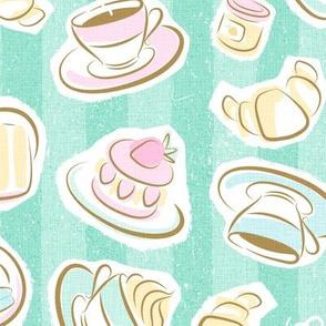 Sweet Cafe Pastel