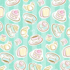 Sweet Cafe Pastel - 50%Size