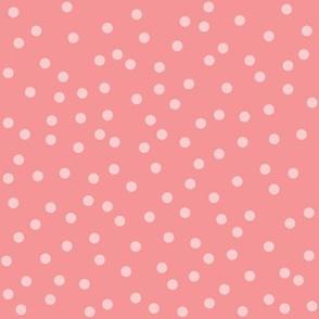 pastel dots pink