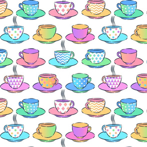 Have a Cuppa in the Pastel Cafe