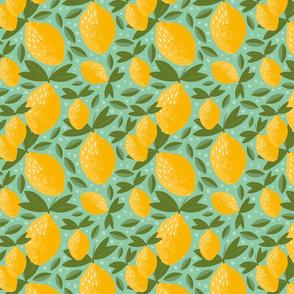 citrus symphony lemons