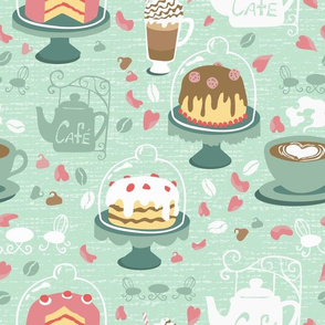Pastel Cafe Mint