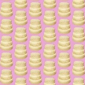 Vanilla Buttercream Layer Cake Pink - Small Scale