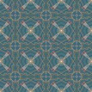 Southwest Pastel Tile Dark