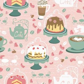 Pastel Cafe Peach