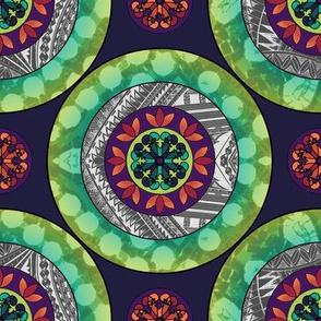 Mandala - Green