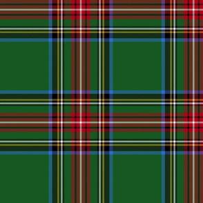 "King George VI / Green Stewart tartan,  10"" - worn by Prince Charles, modern"