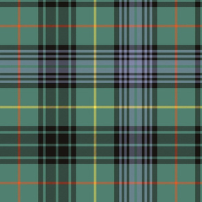 "Stewart hunting alternate tartan - 14"" faded"