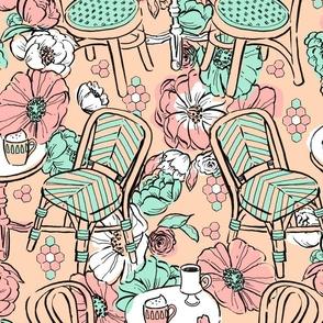 Pastel Cafe Bouquet
