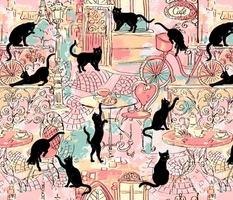 Black cat caffe