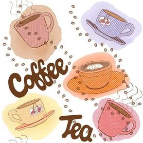Retro cafe culture
