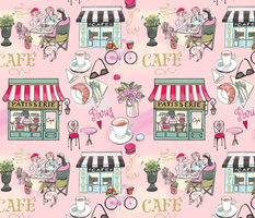 Pastel French Cafe