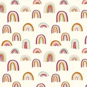 Earthy Rainbows Allover