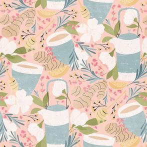 Ginger Lavender Tea