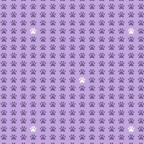 Purple Pawprints 2