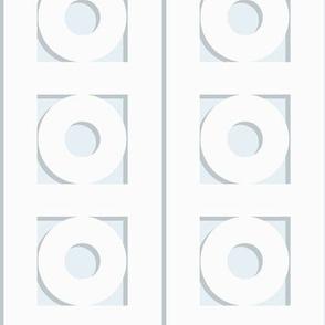 Trelliage SKY BLUE CIRCLE TRIM