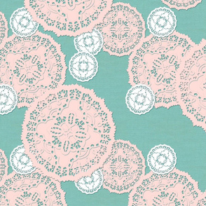 French Paper Doily - Medium to Large Scale - © creative8888