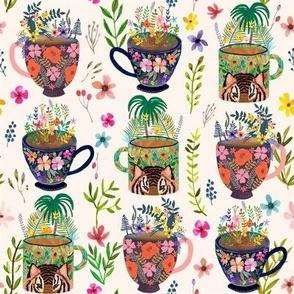 "8"" Tea Paradise / Ivory"