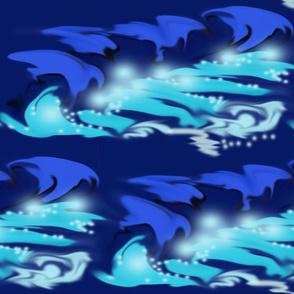 bioluminescence waves