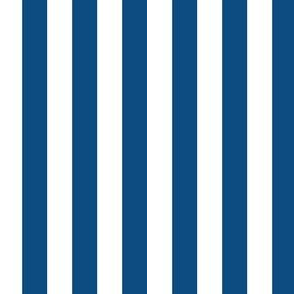 """1/2"""" Classic Blue and White Stripes - Vertical - Half Inch / 1/2 Inch / Half In / 1/2 In / 1/2in / 0.5 Inch"""