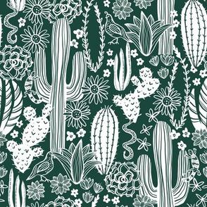 Sonoran Landscape (Emerald)