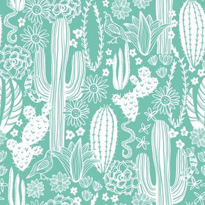 Sonoran Landscape (Mint)