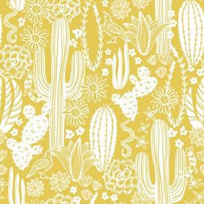 Sonoran Landscape (Mustard)
