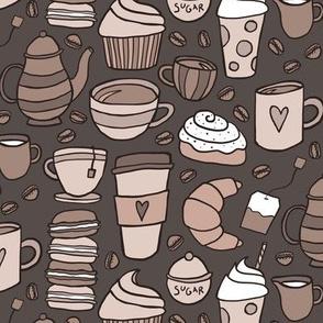 Cozy Cafe (Dark)