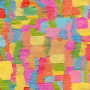 Colorful pencil drawn background