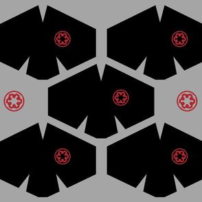 Red Coronavirus Face Masks on Black