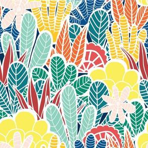 Collage Jungle