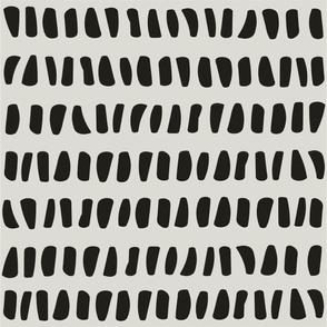 dark gray shapes