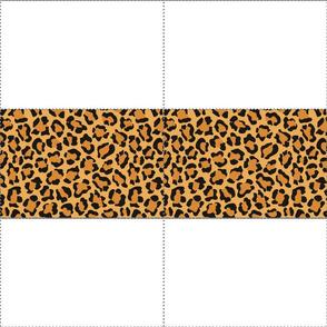 Leopard Print Fabric Mask Template