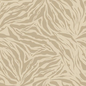 Safari Tigers Skin, Pastel Colors
