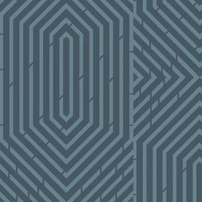 Labyrinth Geometric in Rainstorm