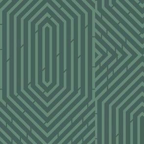 Labyrinth Geometric in Jadite
