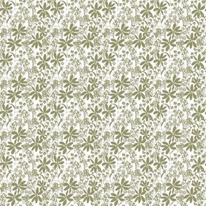 Daisy Lace in Sage 2x2