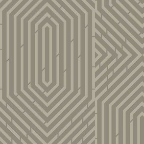Labyrinth Geometric in Gray Area